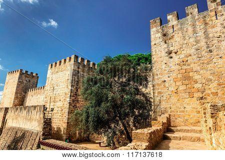 Medieval Castle in Lisbon.