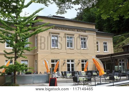 Rehab Clinic Kirnitzschtalklinik In Bad Schandau, Saxon Switzerland