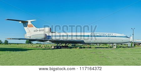 Old Aircraft Tu-154 Tupolev