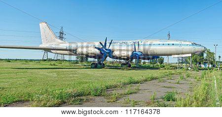 One Of Twelve Old Rare Soviet Aircraft Tu-114
