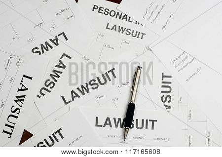The Forms Of The Lawsuit Is On The Table