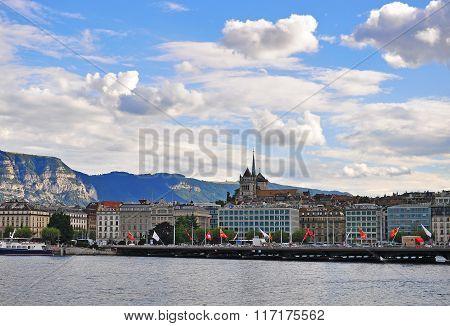 Geneva Cityscape, Switzerland