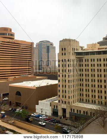 Rare Rainy Winter Day in Phoenix, AZ