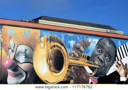 Mural art in Eureka