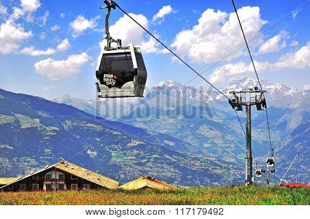 Pila Cable Car, Italy
