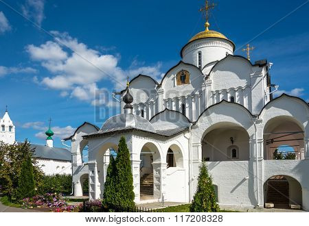 The Cathedral Of The Intercession In Suzdal.