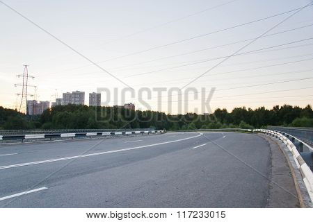 Racing Track During The Day