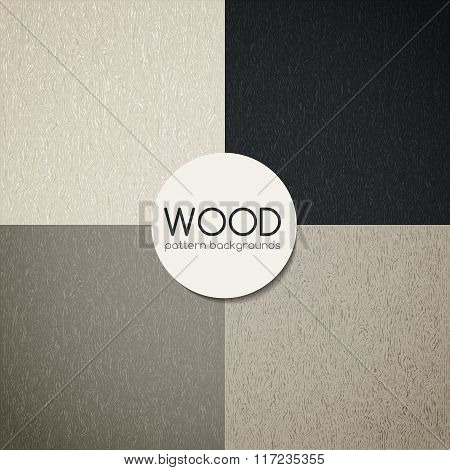 Abstract wooden textured surface. Vector pattern drawing. Natural wood Texture, realistic wooden bac