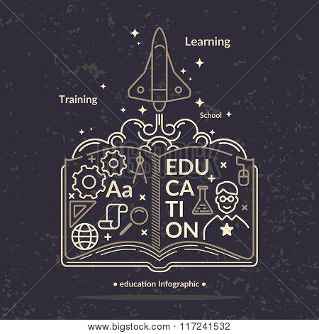 Education Infographics.