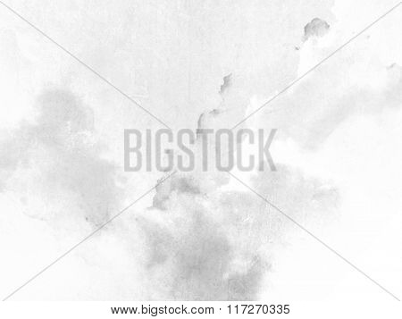White gray background with soft watercolor texture