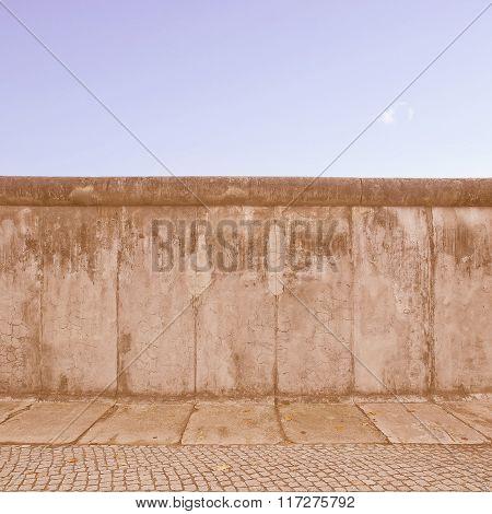 Berlin Wall Vintage