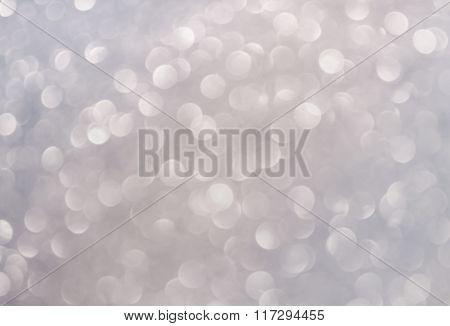 White Platinum Soft  Bokeh Background