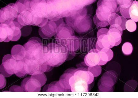 Stock Photo - purple bokeh