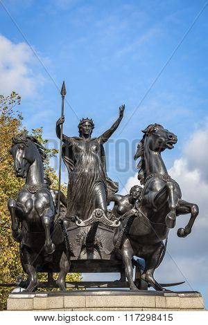 Boudiccan Rebellion Monument In London