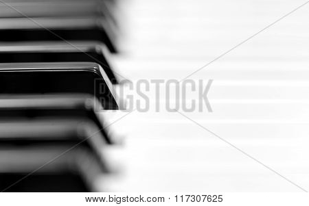 Close-up Of Piano Keys