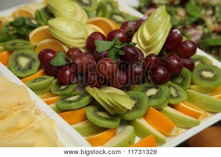 Assorted Fruits For The Buffet
