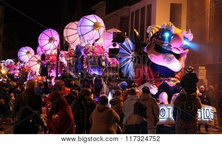 Illuminated Carnival Float