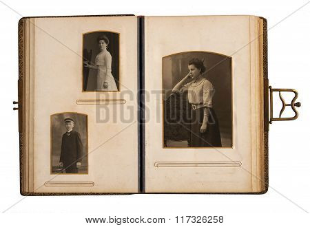 Antique Photo Album
