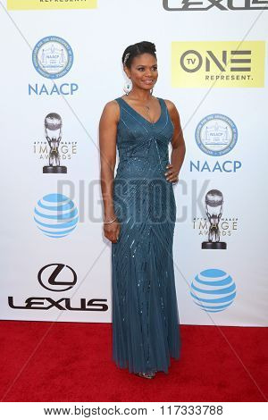 LOS ANGELES - FEB 5:  Kimberly Elise at the 47TH NAACP Image Awards Arrivals at the Pasadena Civic Auditorium on February 5, 2016 in Pasadena, CA