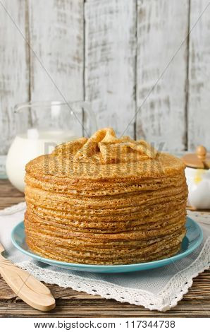 Pancakes. Shrove Tuesday