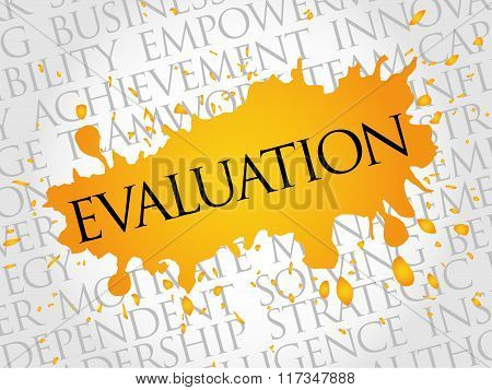 Evaluation Word Cloud