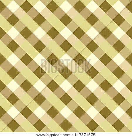 Seamless geometric pattern. Diagonal square, braiding, woven line background. Rhomboid, staggered fi