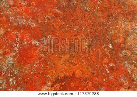 Orange  grunge abstract background