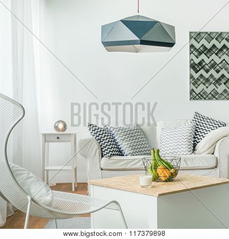 Modern And White