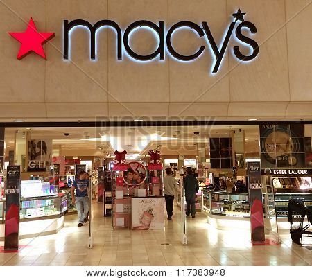 Shopping At Macy's