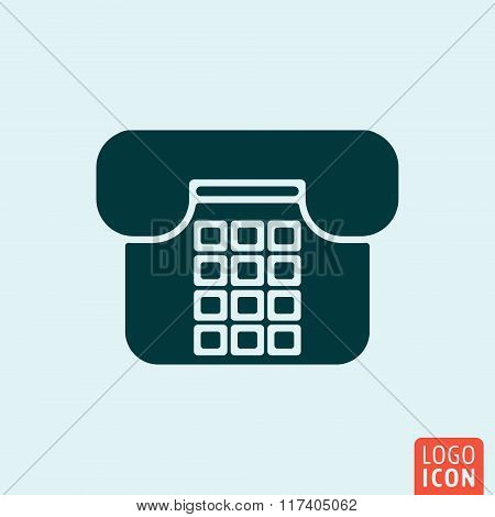 Telephone icon design