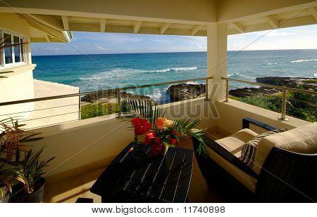 sea view from villa terrace