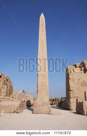 Obelisk Karnak Temple Luxor, Egypt