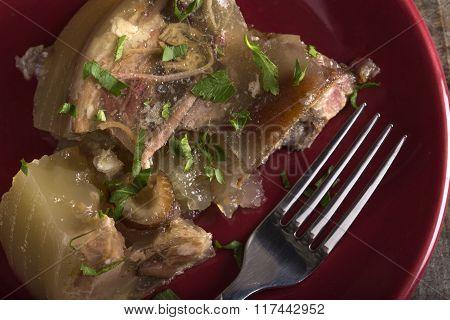 Jellied Pork - Aspic