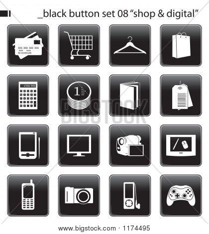 Black Button Set 08