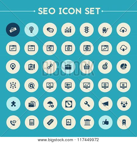 Big SEO icon set
