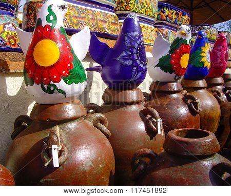 Mexican Bird Pottery