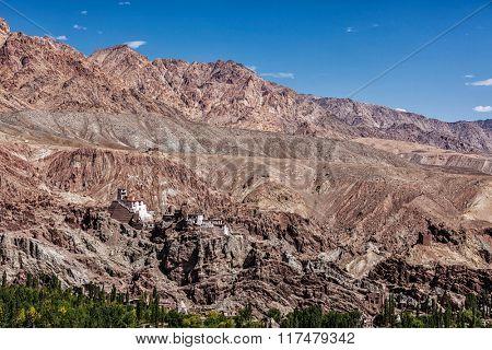 Basgo Gompa (Tibetan Buddhist monastery). Ladakh, India