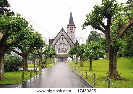 Church Of St. Nicholas. Balzers, Liechtenstein