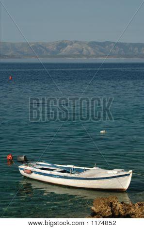 Old Boat Brac Croatia