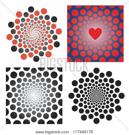 Circles Abstarct Backgrounds