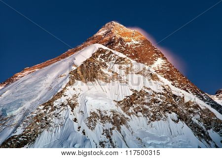 Nightly View On Top Of Mount Everest