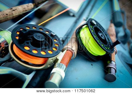 Fishing rod for fly fishing