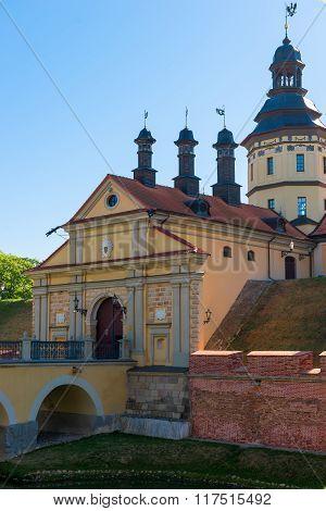 Beautiful Castle In Nesvizh, Belarus