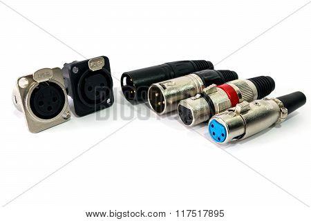 XLR Connector.