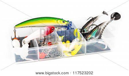 Fishing baits set