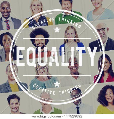 Equality Fair Parity Respect Balance Equal Fairness Concept