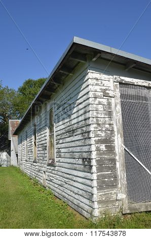 Old chicken house