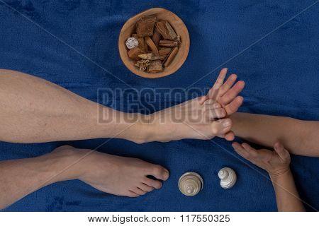 Reflexology Foot Massage, Spa Foot Treatment At Spa Center