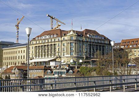 Hotel Bellevue Palace In Bern