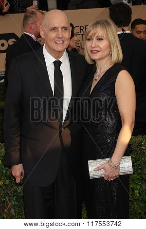LOS ANGELES - JAN 30:  Jeffrey Tambor at the 22nd Screen Actors Guild Awards at the Shrine Auditorium on January 30, 2016 in Los Angeles, CA